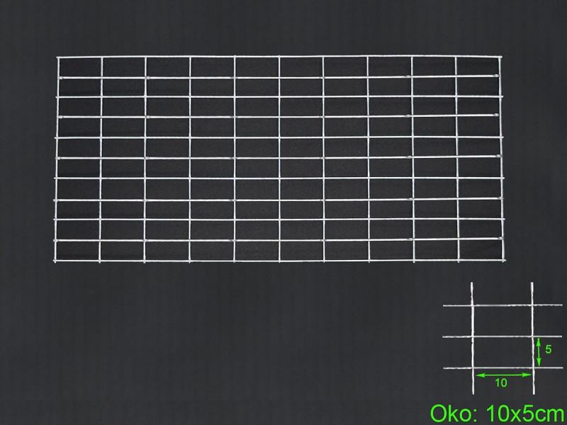 Gabiónová sieť 100x50 cm, oko 10x5 H