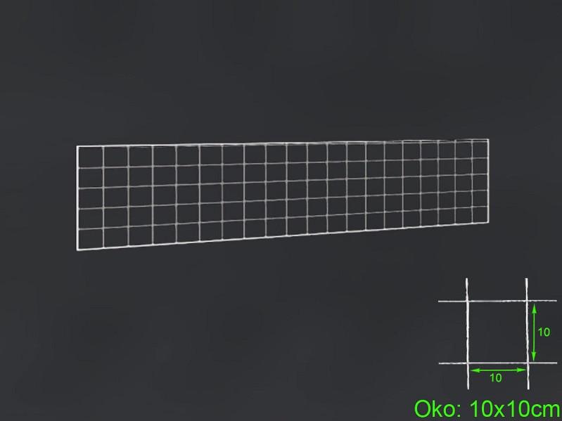 Gabiónová sieť 200x50 cm, oko 10x10