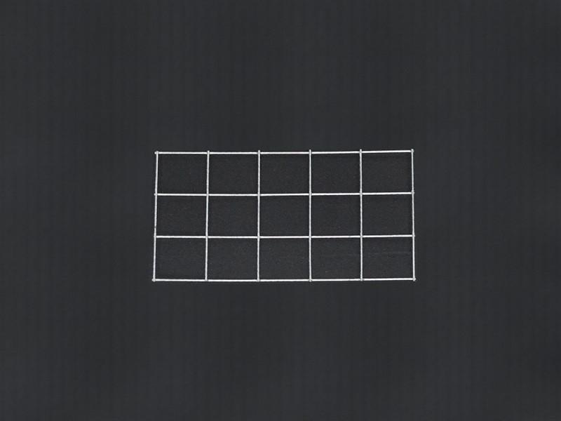 Gabiónová sieť 50x30 cm, oko 10x10