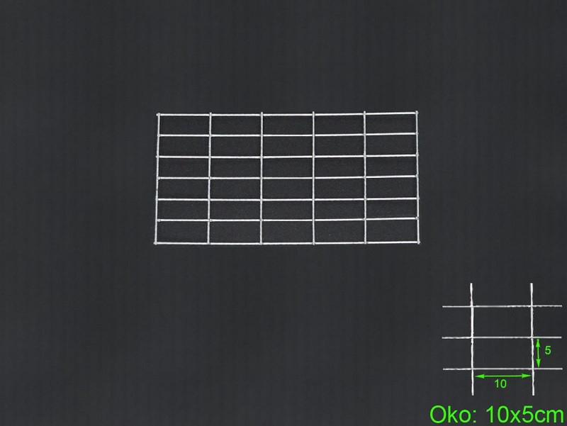 Gabiónová sieť 30x50 cm, oko 10x5 H