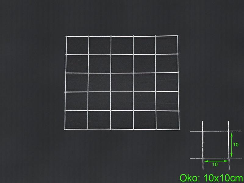 Gabiónová sieť 50x50 cm, oko 10x10