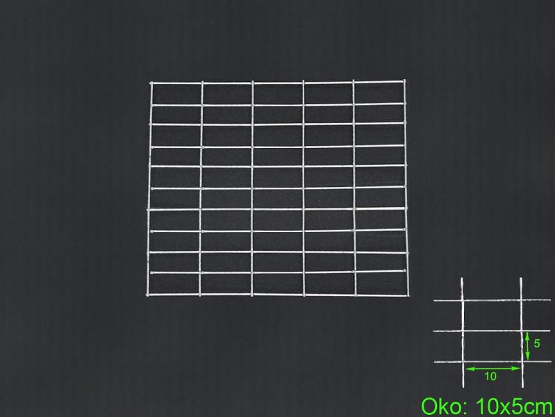 Gabiónová sieť 50x50 cm, oko 10x5 H