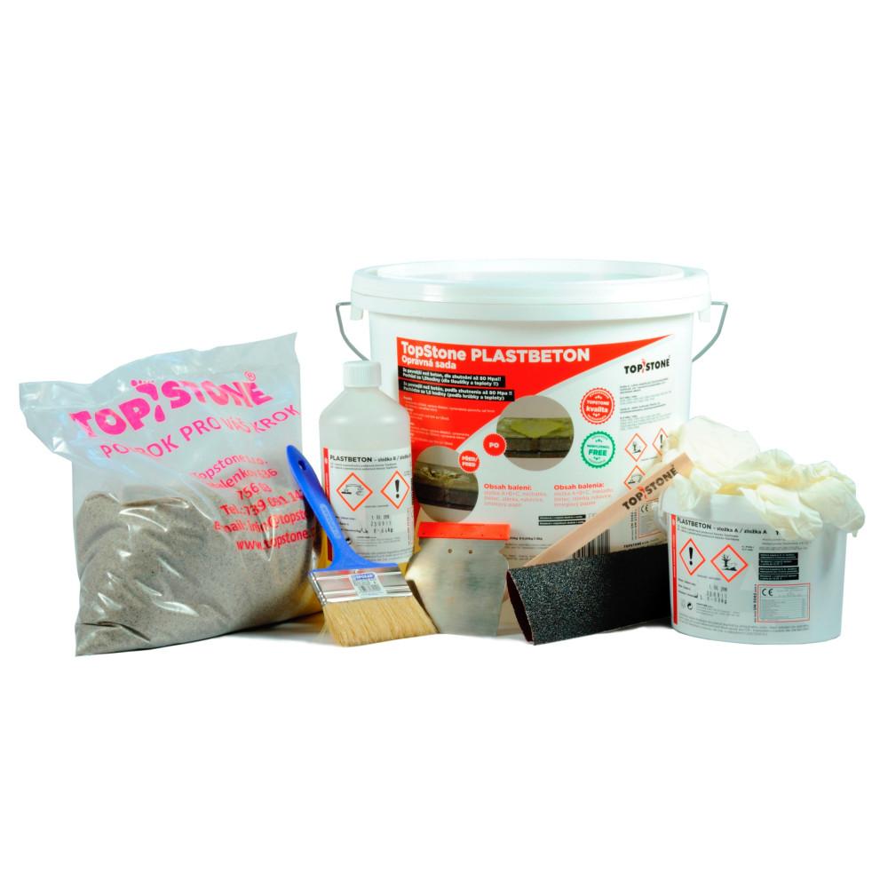 TopStone Plastbeton- opravná sada (10kg balenie)