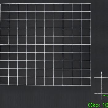 Gabiónová sieť 100x100 cm, oko 10x10
