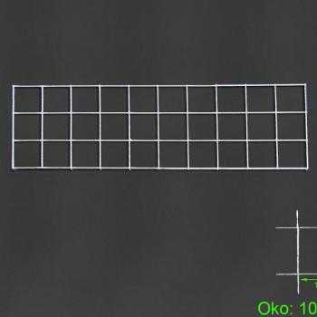 Gabiónová sieť 100x30 cm, oko 10x10