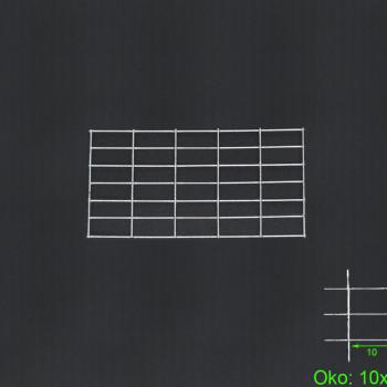 Gabiónová sieť 100x30 cm, oko 10x5 H