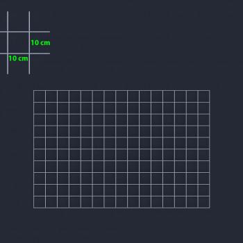 Gabiónová sieť 150x100 cm, oko 10x10